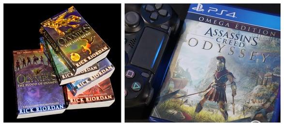 Greek-mythology-novel-game-odyssey