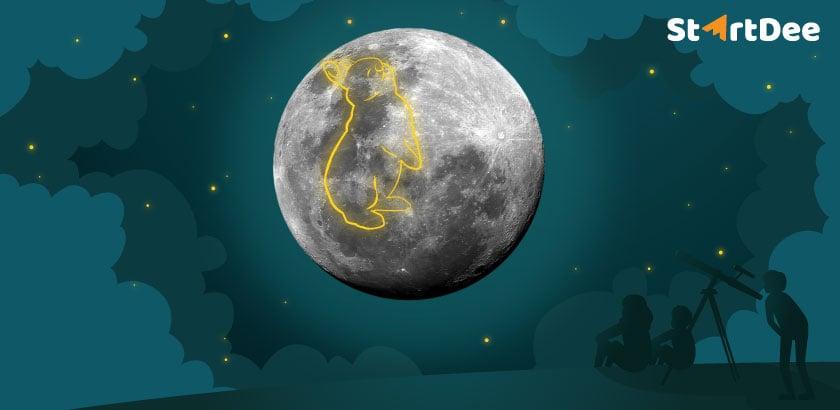 กระต่ายบนดวงจันทร์