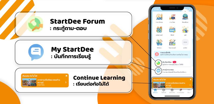 StartDee Features